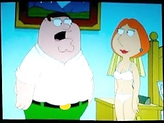 Лоис Гриффин трахается со своим жирным муженьком Питером